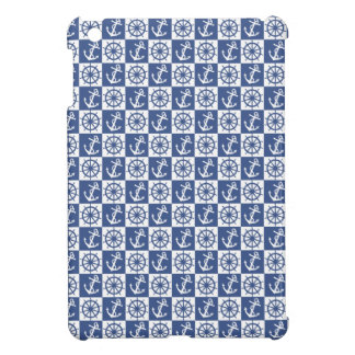 Anchor and Ship's Wheel Cover For The iPad Mini