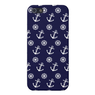 Anchor and Ship's Wheel iPhone 5 Case
