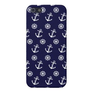 Anchor and Ship's Wheel iPhone 5/5S Case