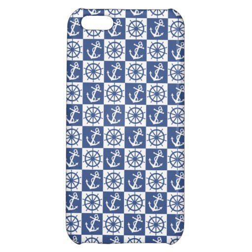 Anchor and Ship's Wheel iPhone 5C Covers