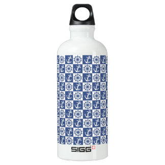 Anchor and Ship's Wheel SIGG Traveller 0.6L Water Bottle