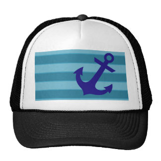 Anchor and Stripes Cap