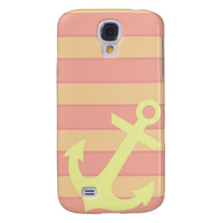 Anchor and Stripes Galaxy S4 Case