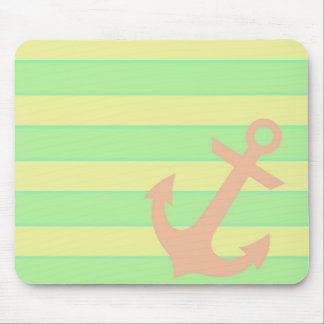 Anchor and Stripes Mouse Mat