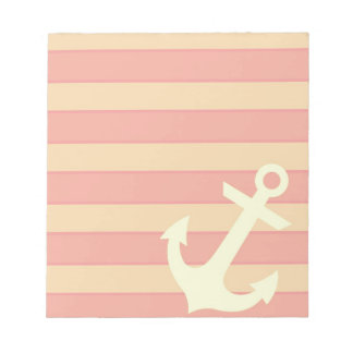 Anchor and Stripes Notepad