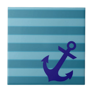 Anchor and Stripes Tile