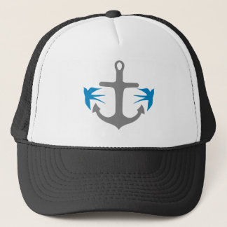 Anchor and Swallows Trucker Hat