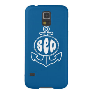 Anchor And The Sea Galaxy S5 Covers