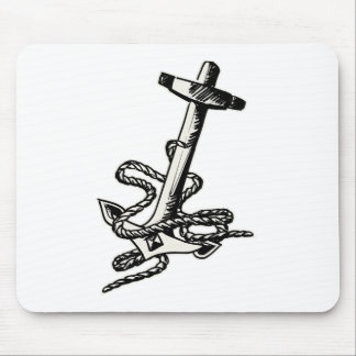 Anchor and Tow Mouse Pad