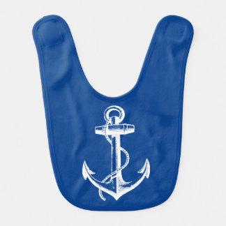 Anchor Blue Bib