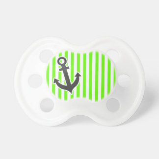 Anchor; Bright Green Stripes; Striped Dummy