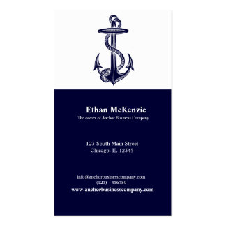 Anchor Business Card Templates