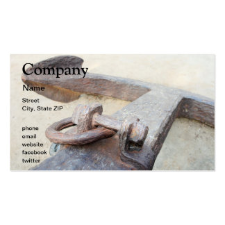 Anchor Business Card Template