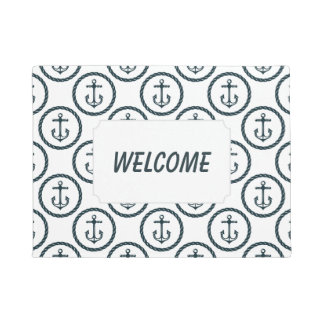 Anchor Buttons Pattern | Add Your Text Doormat
