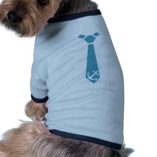 Anchor - captain pet t shirt