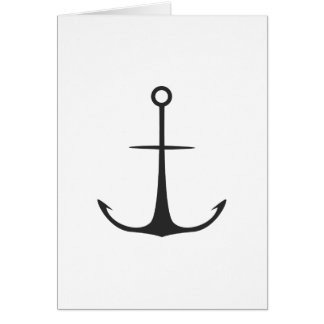 Anchor Greeting Card