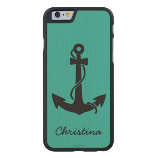 Anchor Carved® Maple iPhone 6 Case