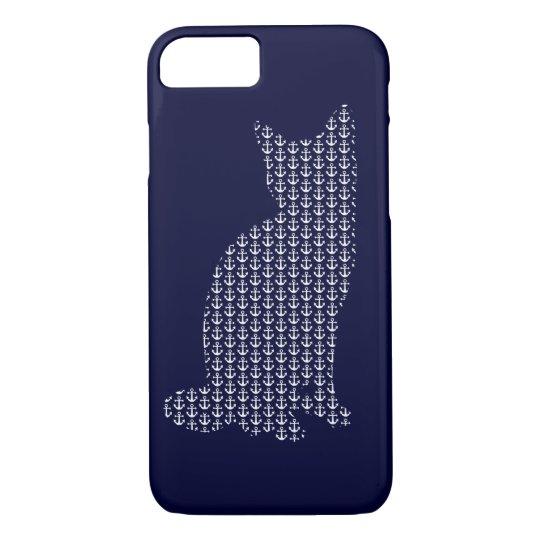 Anchor cat iPhone 8/7 case