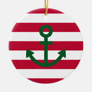 Anchor Christmas Ornament