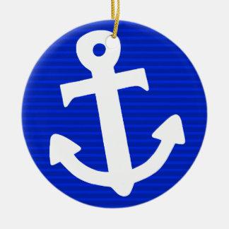 Anchor Christmas Ornament