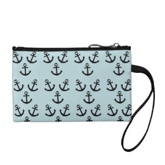 Anchor Clutch Bag Coin Wallets