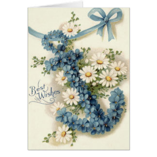 Anchor Forget-Me-Not Daisy Card