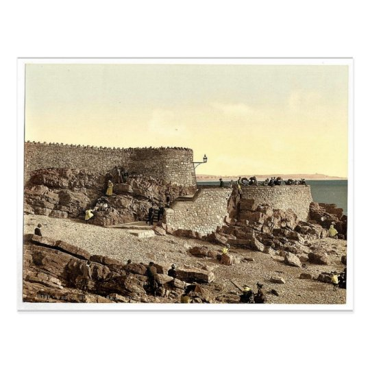 Anchor Head, Weston-super-Mare, England rare Photo Postcard