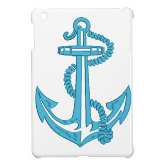 anchor - imitation of embroidery case for the iPad mini