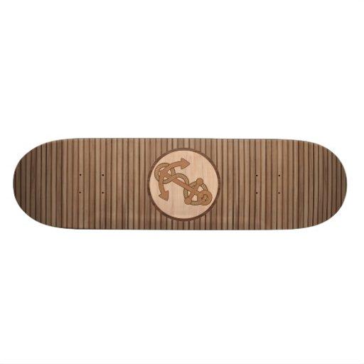 Anchor Inlay #2 Skateboard
