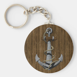 Anchor Key Ring