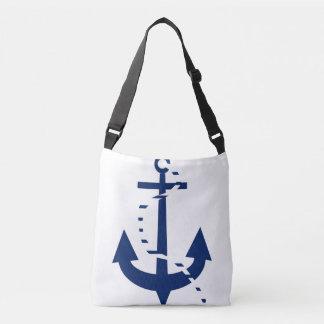 Anchor & Line Navy Crossbody Bag