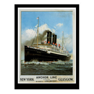 Anchor Line Postcard