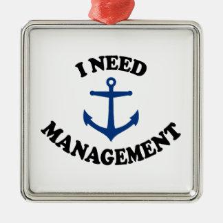 Anchor Management Christmas Ornament