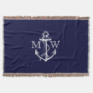 Anchor, Nautical Monogram