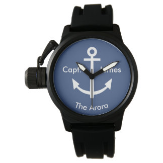 Anchor Navy Nautical Capt. Watch