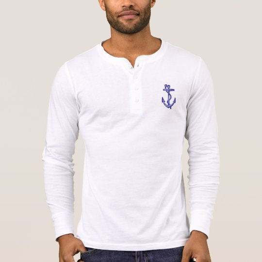 Anchor Ornament with Rope T-Shirt