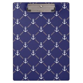 Anchor pattern clipboard