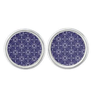 Anchor pattern cufflinks