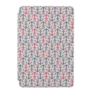 Anchor pattern iPad mini cover