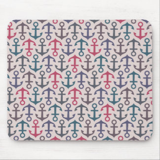 Anchor pattern mouse pad