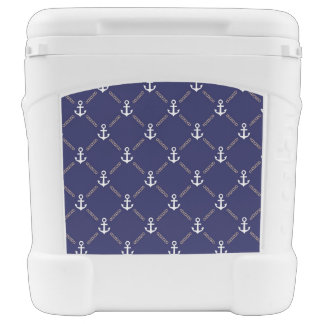 Anchor pattern rolling cooler