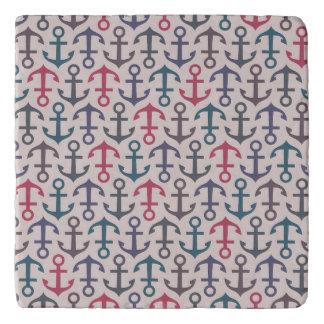 Anchor pattern trivet