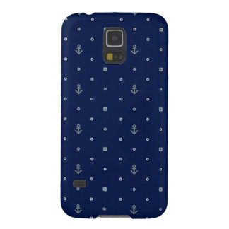 Anchor Polka Dots Pattern Cases For Galaxy S5