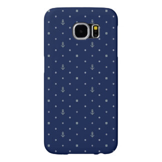 Anchor Polka Dots Pattern Samsung Galaxy S6 Cases