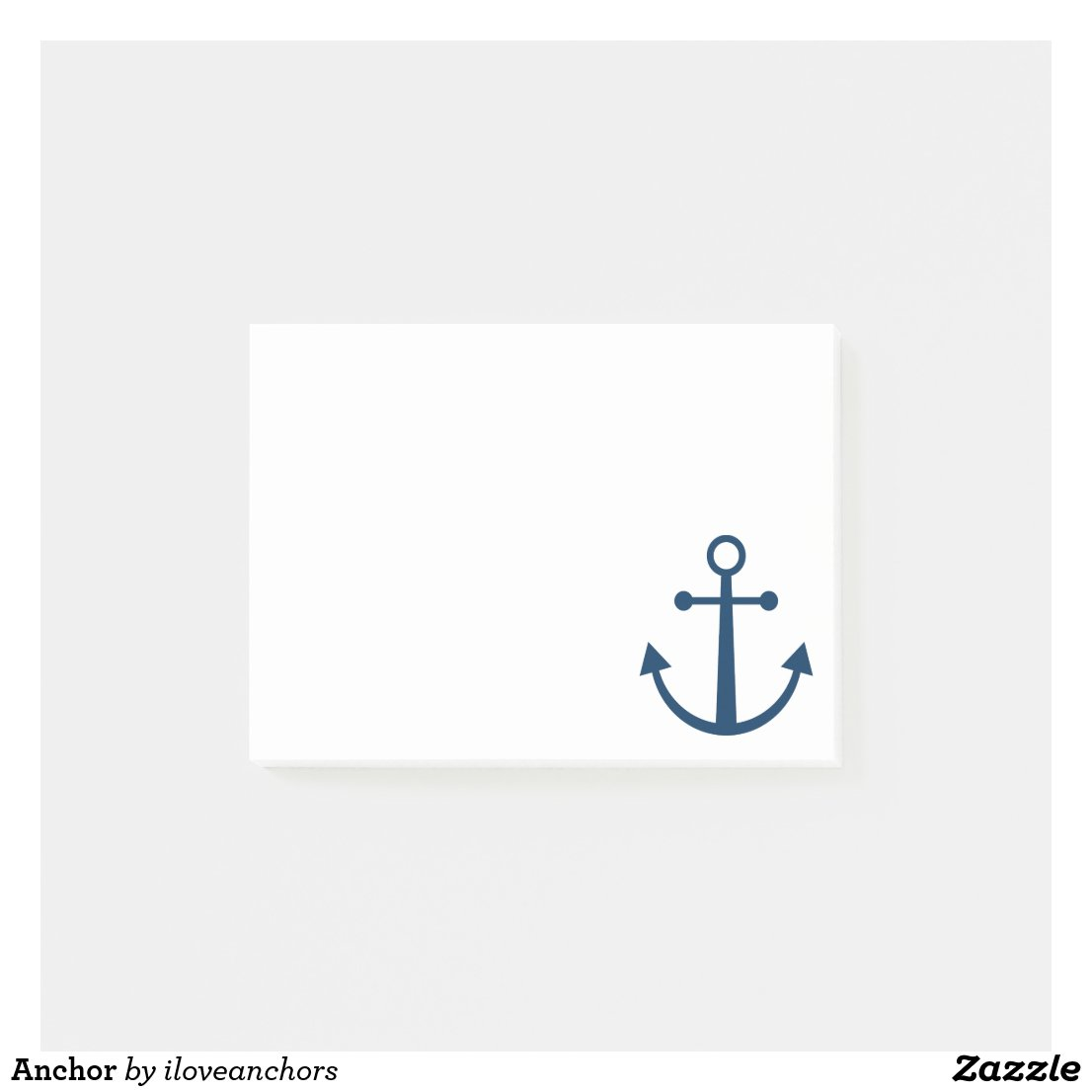 Anchor Post It Notes