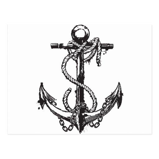 Anchor Post Card