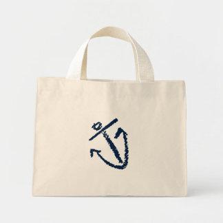 anchor purse mini tote bag