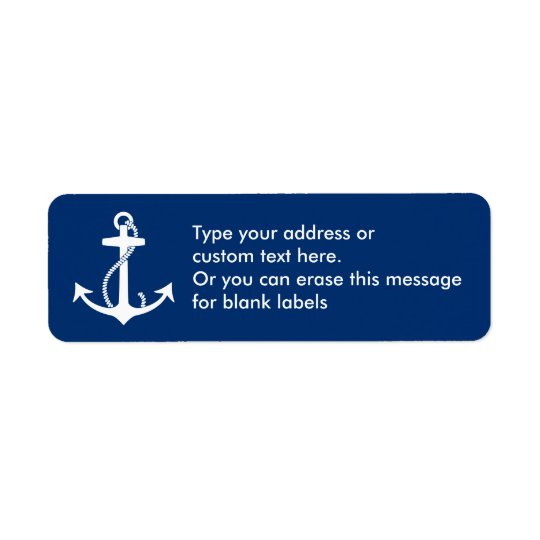 Anchor Return Address Labels