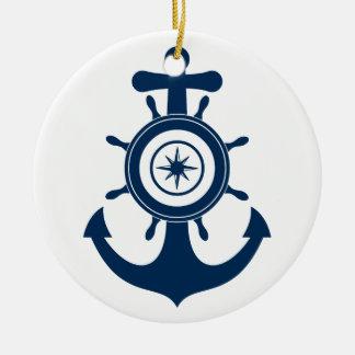 Anchor Sailor ornament