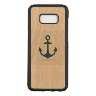 Anchor Samsung Galaxy S8+ Slim Cherry Wood Case